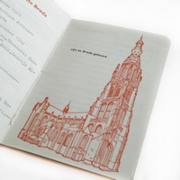 Special marriage certificate book!