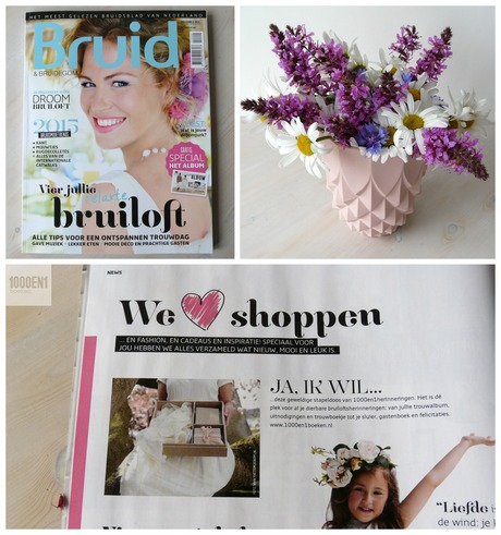 Featured in the Bruid & Bruidegom Magazine
